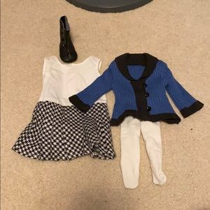 American Girl Doll Rebecca's School Outfit